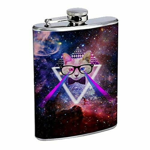 gifts for cat lovers flask