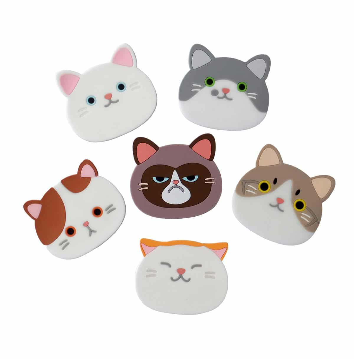 cat gifts coasters