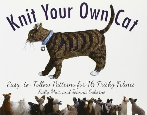 gifts for cat lovers knit cat