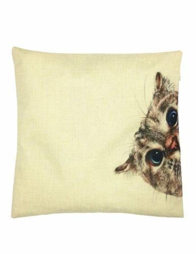 gifts for cat lovers deco cat pillow