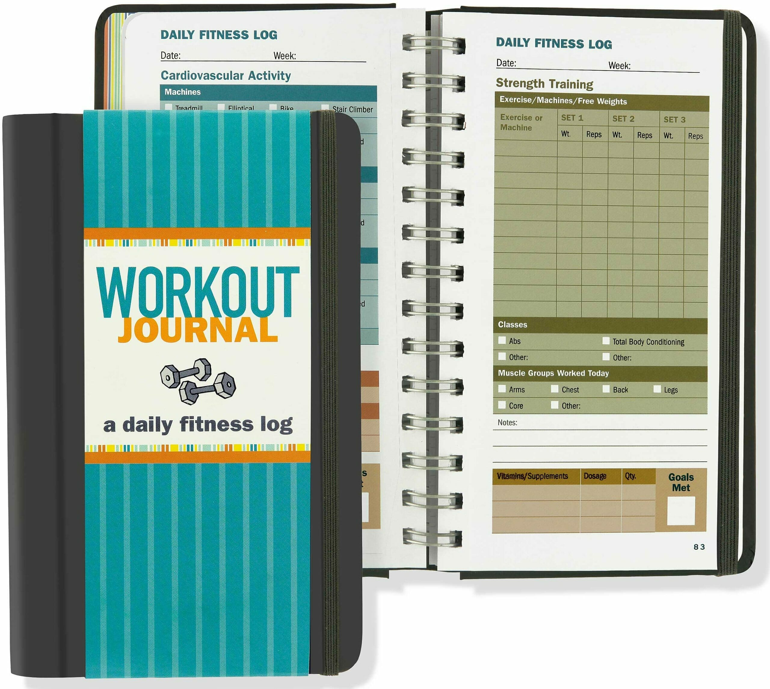 gifts for brother workout journal