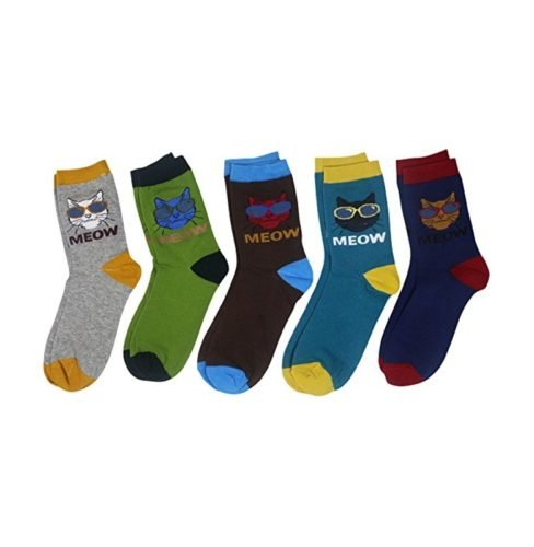 gifts for cat lover cat socks