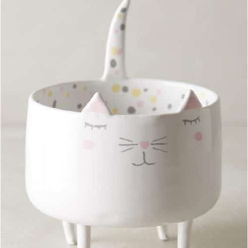 gifts for cat lovers trinket dish
