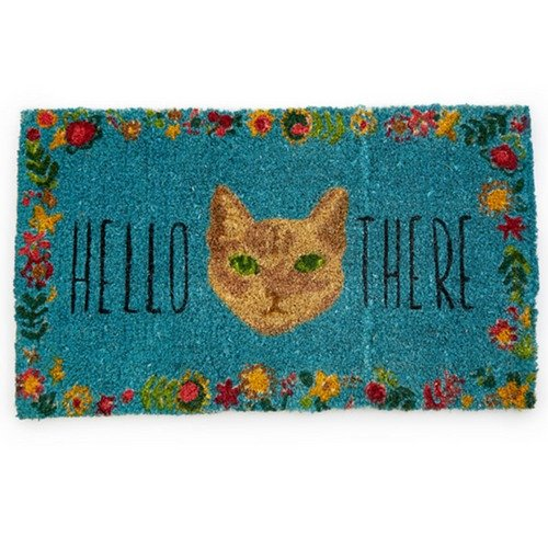 gifts for cat lovers door mat