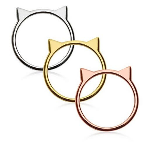 gifts for cat lovers cat ear rings