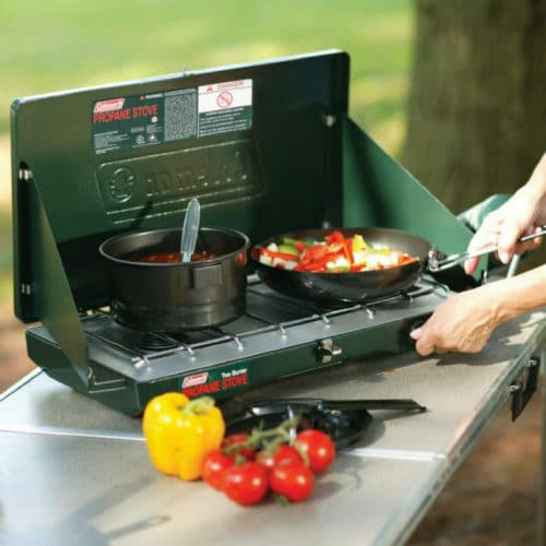 camping gifts colemen propane stove