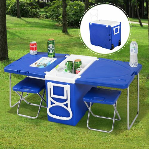 camping gifts table