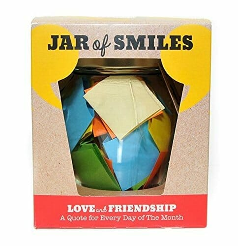 going away gifts jar of smiles