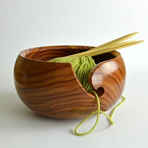 gifts for knitters yarn bowl