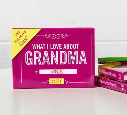 gifts for grandma journal