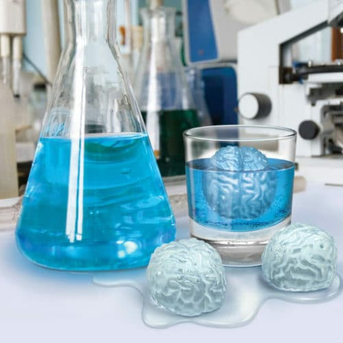 gifts for nurses brain ice tray