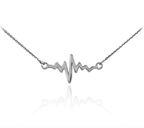 gifts for chefs heartbeat necklace