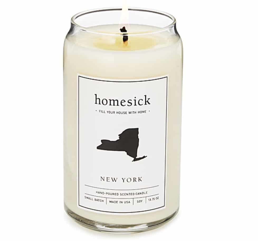 going away gifts homesick candle