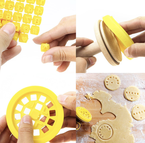 gifts for grandma cookie stamper