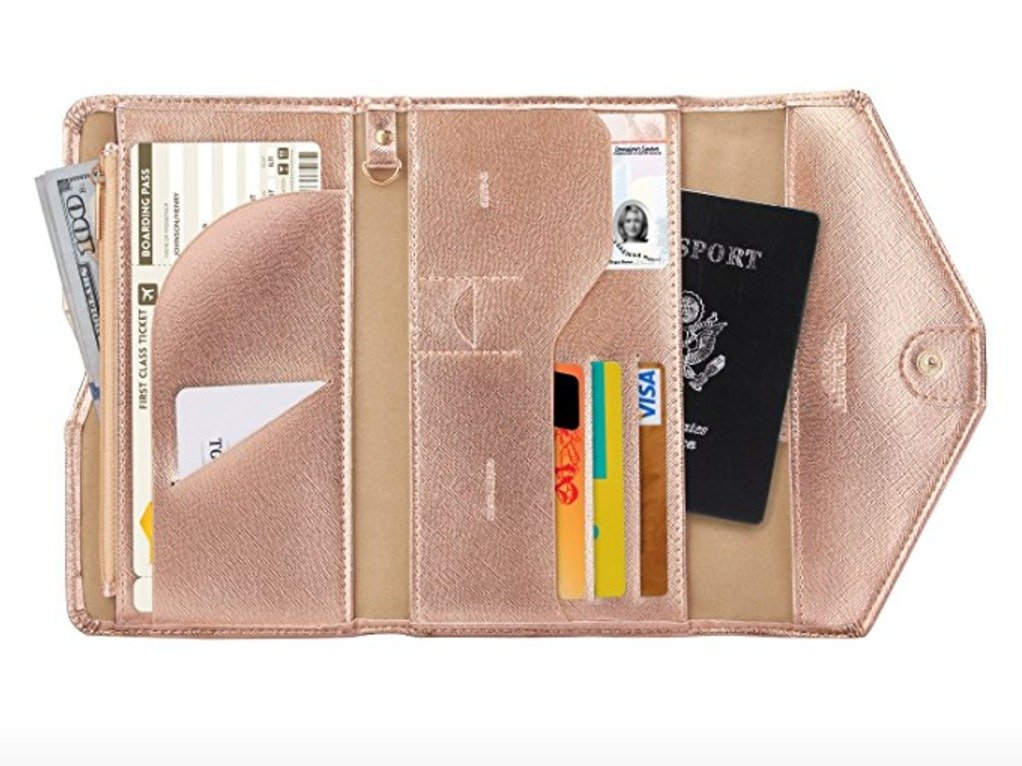 gifts for sister travel wallet