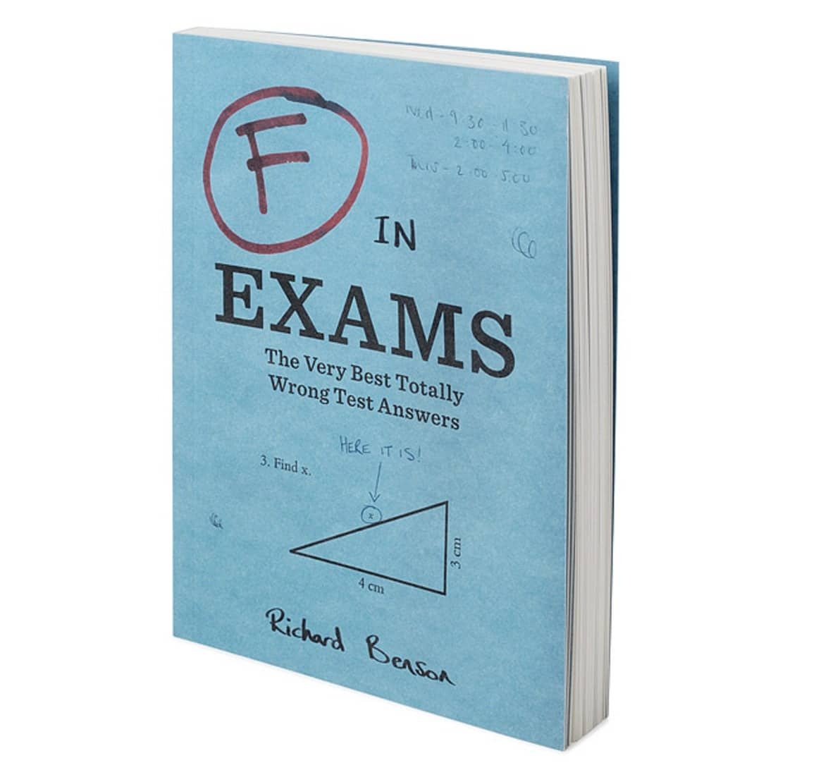 gifts for professors exam book