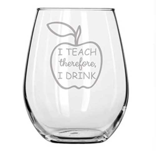 gifts for professors wine glasses
