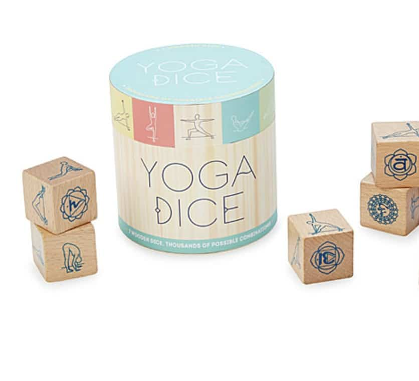 yoga gifts dice