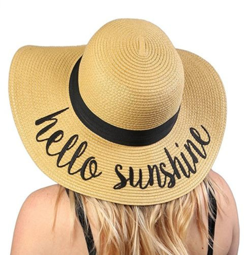 beach gifts sunshine hat