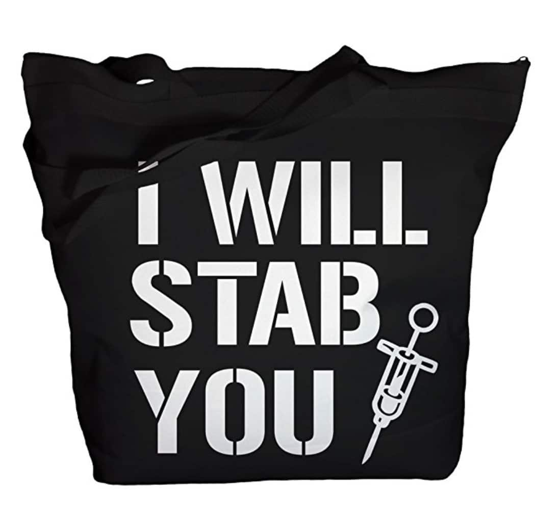 gifts-for--nurses-tote-funny