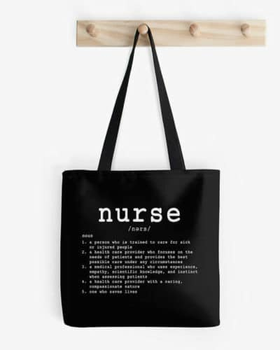 gifts for nurses tote