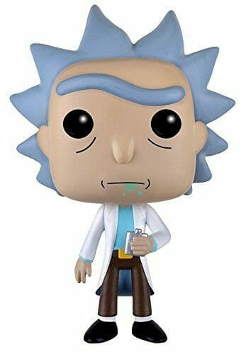 rick and morty merchandise action figure