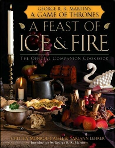 game of thrones gifts cookbook