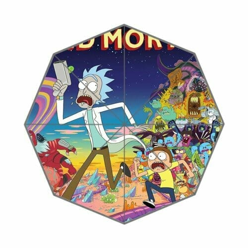 rick and morty merchandise umbrella