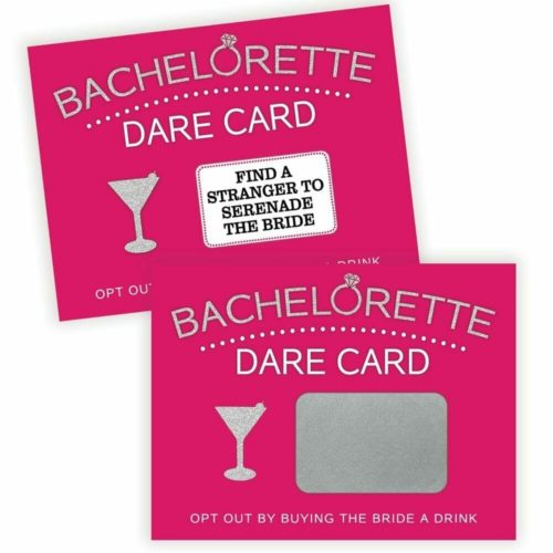 bachelorette gift ideas dare cards