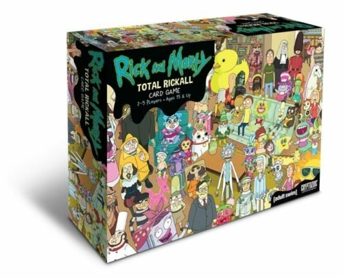 rick and morty merchandise card game