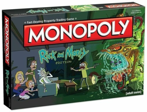 rick and morty merchandise monopoly