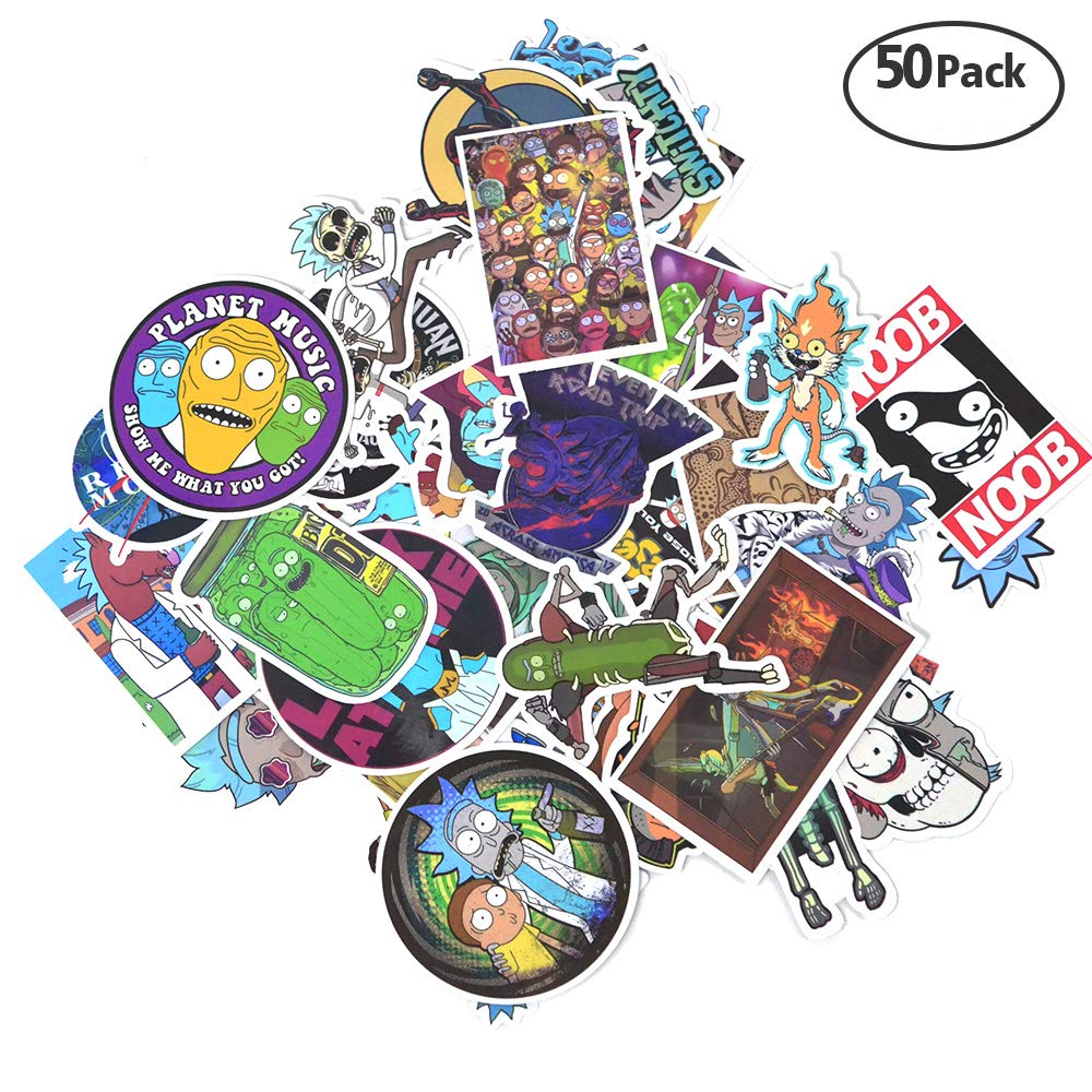 rick-and-morty-stickers