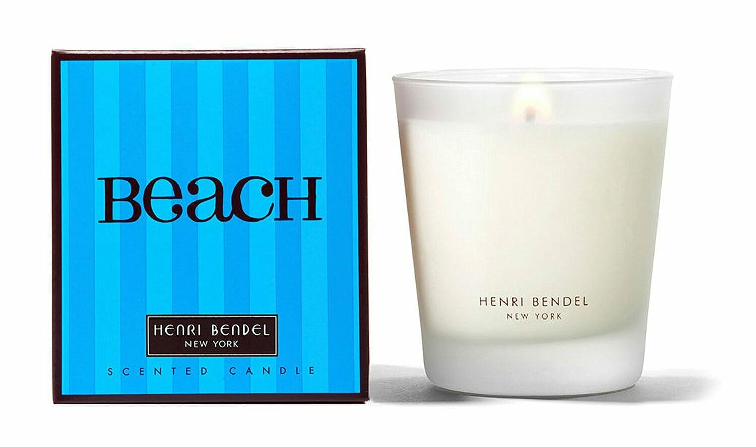 beach gifts candle