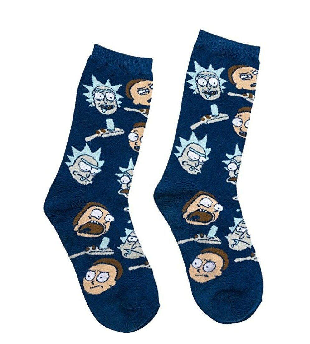 rick and morty merchandise socks