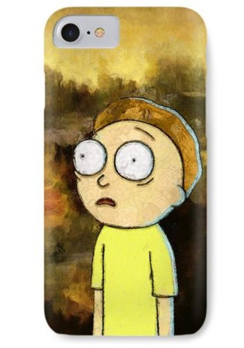 rick and morty merchadise phone cover