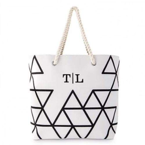 cheap bridesmaid gifts tote geo