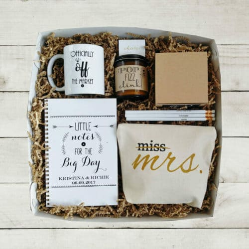 bachelorette gift ideas mrs box
