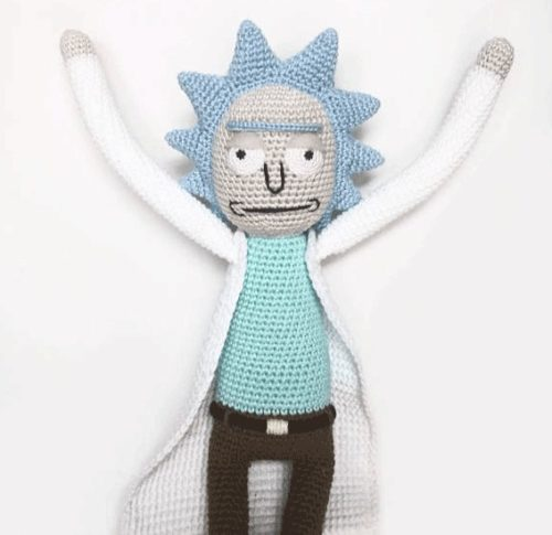 rick and morty merchandise doll