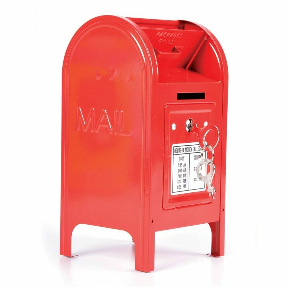 piggy bank mail box