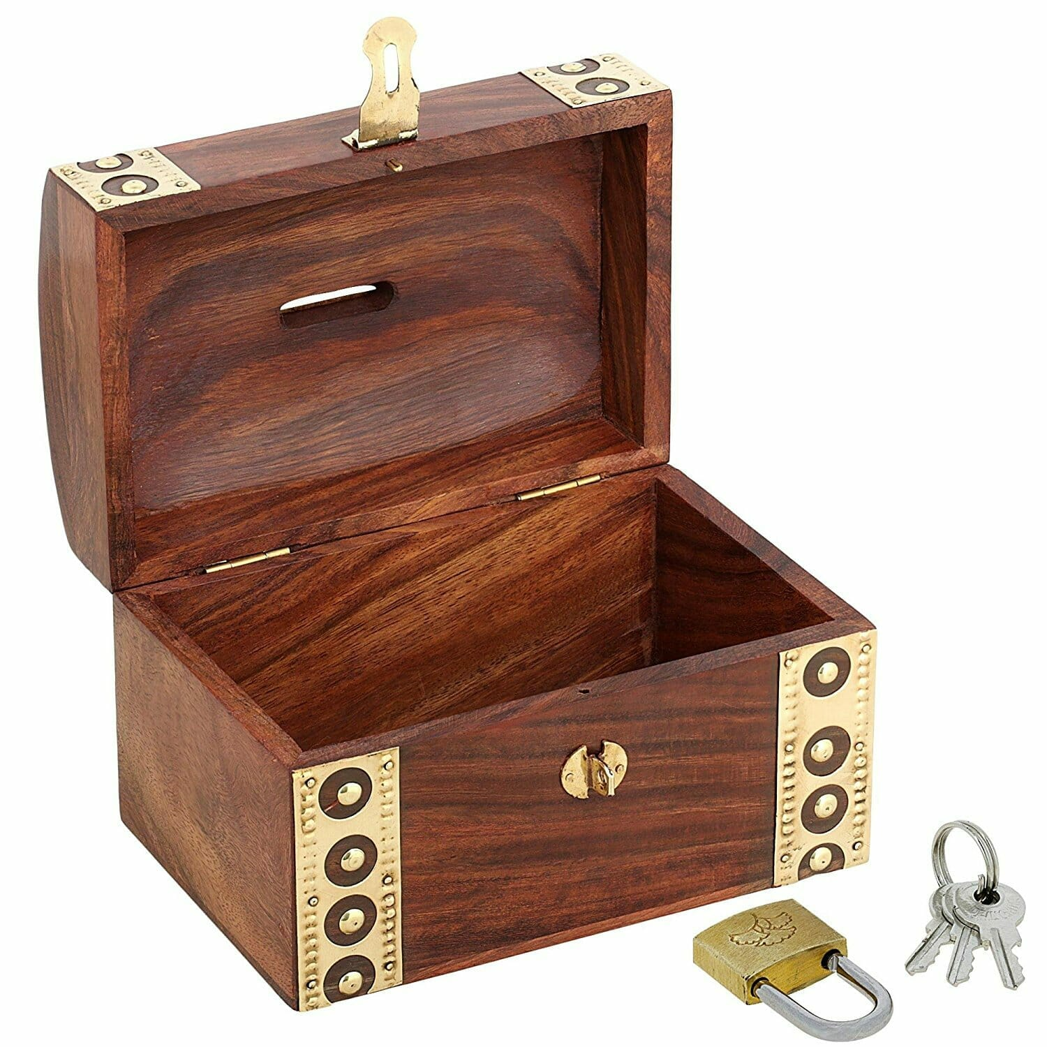 piggy bank treasure chest