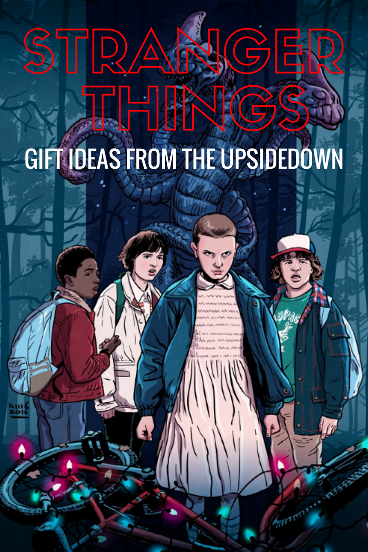 If you're frothing at the mouth for the next season, here's a list of truly awesome Stranger Things merchandise and gift ideas that will make any fan happy.
