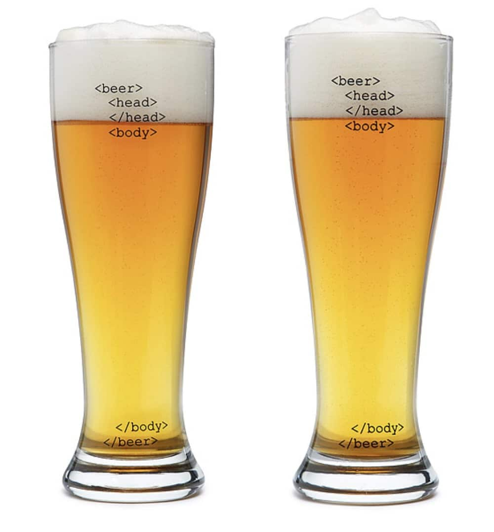 retirement gifts for men pint glasses