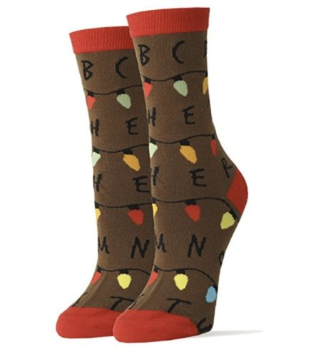 stranger things merchandise socks