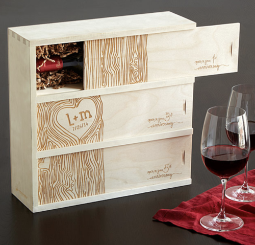 gifts for couples wine box