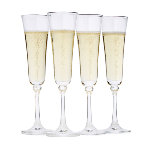 gifts for couples champagne flutes
