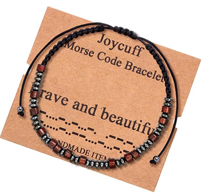 inspirational-gifts-morse-code-bracelet