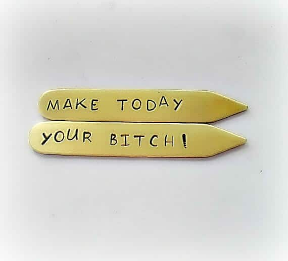 inspirational gifts collar stays