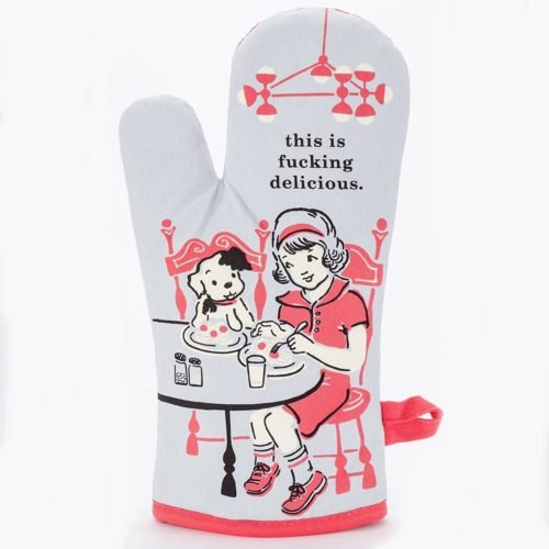 gifts for best friends oven mitt