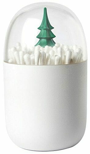 best white elephant gift ideas q-tip holder
