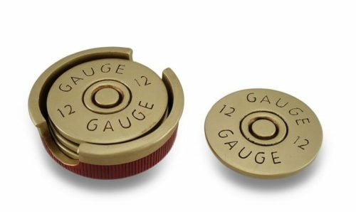 man cave gifts shotgun coasters